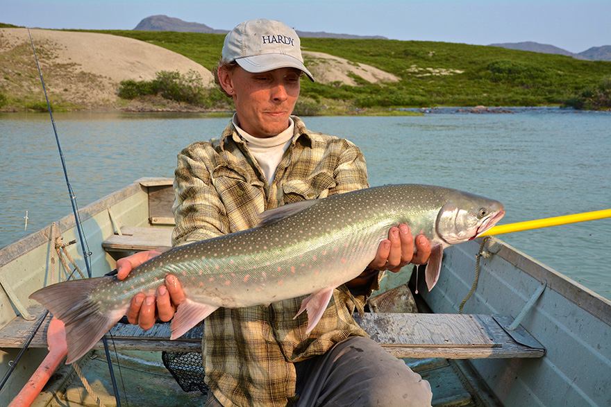 Great bear lake 2016 the true north strong and tree for Arctic char fish