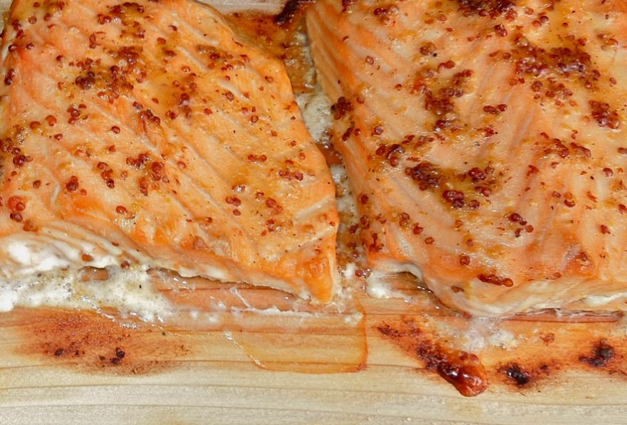 Cedar Planked Maple/Dijon Lake Trout