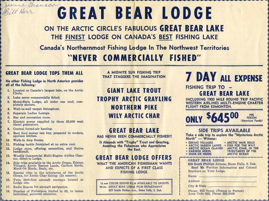 Vintage Great Bear Lodge Video
