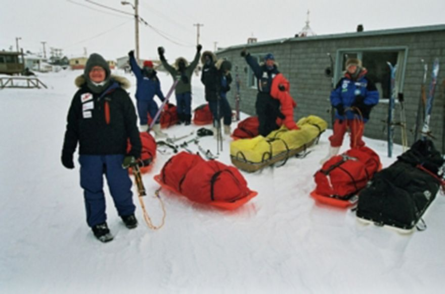 Great Bear Lake Expedition Log – February 2005