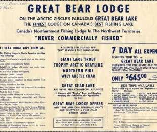Vintage Great Bear Lodge Video