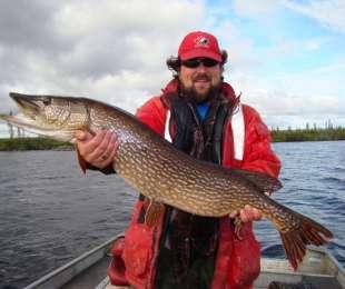 Catching Pike on Great Bear Lake